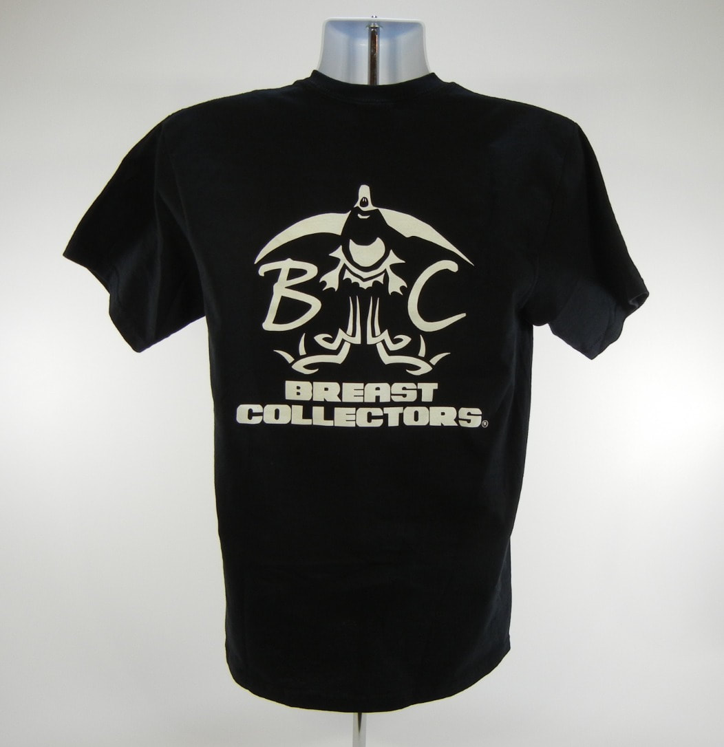 81b7d97878c7d Breast Collectors Black T-Shirt